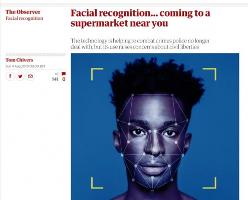 Observer - Facewatch - Facial recognition